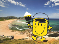 painter in northern beaches